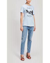 Être Cécile Party Animals T-shirt - Blue