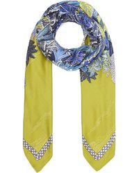 Inouitoosh - Giovanni Floral Silk-blend Scarf - Lyst