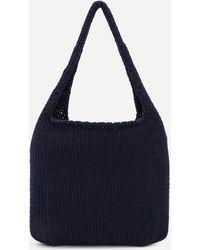 Paloma Wool Pidgey Organic Cotton Knit Bag - Blue