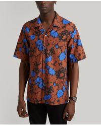 Paul Smith Floral Short-sleeved Shirt - Multicolour