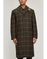 OAMC - Cage Wool-blend Coat - Lyst