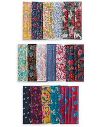 Liberty Assorted Upcycled Tana Lawn' Cotton Face Coverings Set Of Five - Multicolour