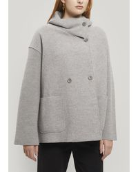 Oska Gargia Merino Wool Jacket - Grey
