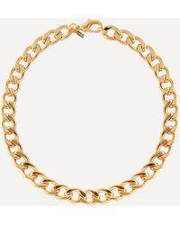 Joolz by Martha Calvo Gold-plated Havana Chain Necklace - Metallic