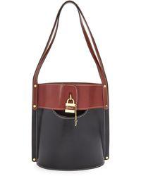 Chloé Medium Aby Bucket Bag - Black