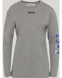 Être Cécile - Breakfast Club Long Sleeve T-shirt - Lyst