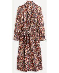 Liberty Thorpe Tana Lawn' Cotton Robe - Multicolour