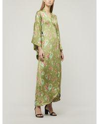 byTiMo Kimono Wrap-dress - Green