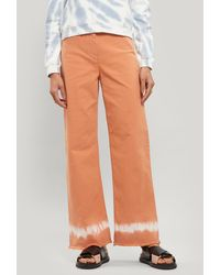 Paloma Wool Nadia Wide-leg Trousers - Orange
