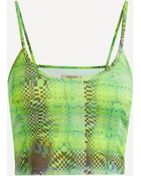 Paloma Wool Oasis Esque Print Top - Green