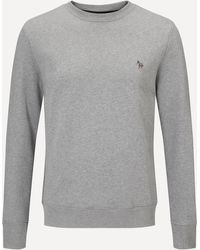 PS by Paul Smith Zebra Crew-neck Sweatshirt - Grey