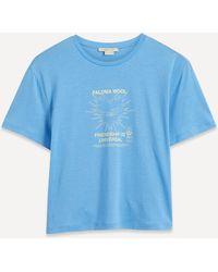 Paloma Wool Souvenir Corazon Printed T-shirt - Blue