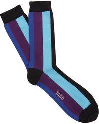 Paul Smith - Horizontal Stripe Socks - Lyst