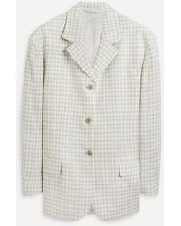 Acne Studios Boxy Tweed Suit Jacket - Multicolour