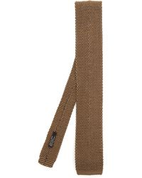 Nick Bronson - Two Tone Knitted Silk Tie - Lyst