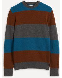 Oliver Spencer Blenheim Stripe Wool Jumper - Multicolour