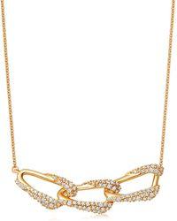 Astley Clarke - Gold Vela Diamond Pendant Necklace - Lyst