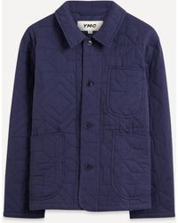 YMC Diddy Star-back Jacket - Blue