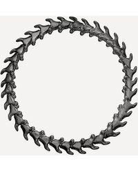 Shaun Leane Rhodium-plated Silver Serpents Trace Slim Bracelet - Multicolour