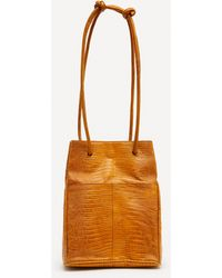 Paloma Wool Marcel Leather Bag - Orange