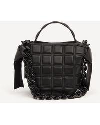 Acne Studios Musubi Mini Quilted Leather Shoulder Bag - Black