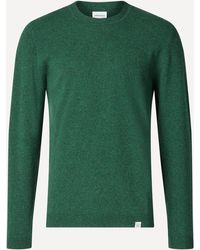 Norse Projects Sigfred Light Wool Sweater - Green