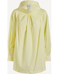 3.1 Phillip Lim Draped Collar Shirt - Multicolour