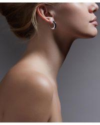Shaun Leane - Silver Medium Cat Claw Earrings - Lyst