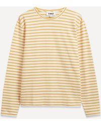 YMC X Stripe Jersey Sweatshirt - Multicolor
