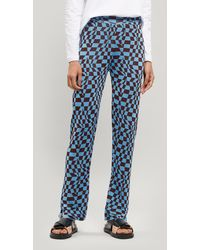 Paloma Wool Orinocco Knitted Trousers - Blue