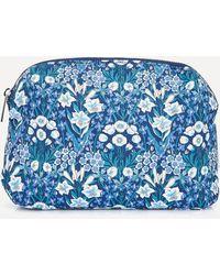 Liberty Large Mountain Primrose Wash Bag - Blue