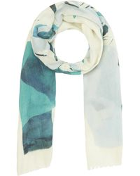 Inouitoosh Banquise Polar Bear Wool Scarf - Blue