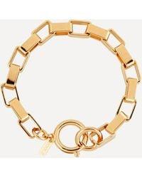 Joolz by Martha Calvo Gold-plated Boxer Chain Bracelet - Metallic