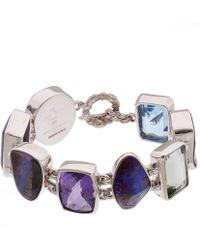 Stephen Dweck - Silver Boulder Opal Multi-stone Bracelet - Lyst