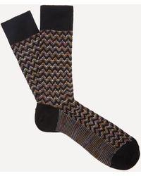 Missoni - Crochet-knit Zig-zag Socks - Lyst