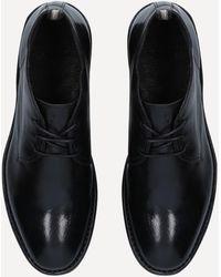 Officine Creative Staple Leather Chukka Boots - Black