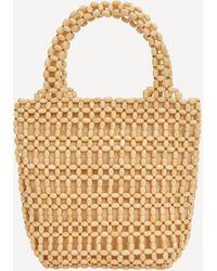 Paloma Wool Peque Wooden Short Handle Bag - Multicolour