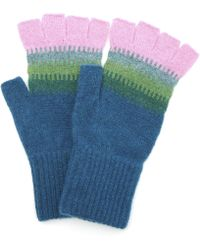 Quinton-chadwick - Fingerless Fade-out Gloves - Lyst