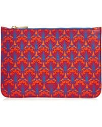 Liberty - Medium Pouch In Iphis Canvas - Lyst