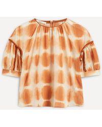 Sessun Aminorte Tie-dye Top - Orange