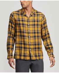Officine Generale Dario Flat-collar Shirt - Multicolor