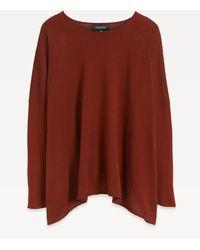 Eskandar - Bateau Neck Oversized Silk Knit - Lyst