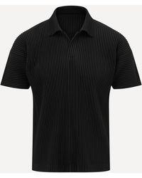 Homme Plissé Issey Miyake Core Short-sleeve T-shirt - Black