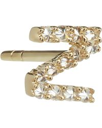 Annoushka - Z 18ct Yellow-gold And Diamond Single Stud Earring - Lyst