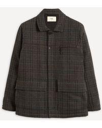 Folk Alber Check Wool Coat - Multicolor