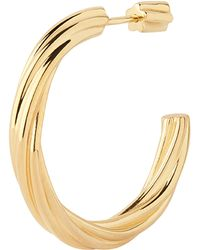 Maria Black - Gold-plated Arsiia Hoop 30 Earring - Lyst