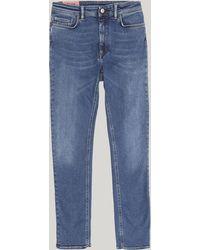 Acne Studios Peg Jeans - Blue