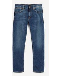 Nudie Jeans Lean Dean Blue Vibes Jeans