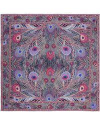 Liberty Hera 70 X 70cm Silk Twill Scarf - Pink