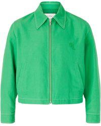 Second/Layer Rocker Blouson Jacket - Green